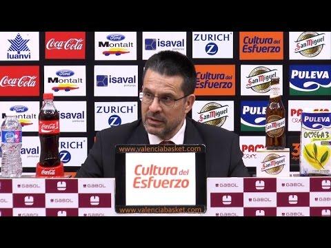 Pedro Martínez post J22 Liga Endesa vs Divina Seguros Joventut