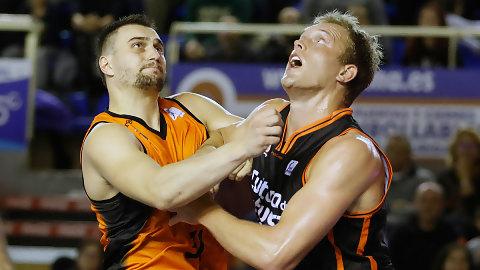 Valencia Basket-Montakit Fuenlabrada: duelo con precedentes taronjas