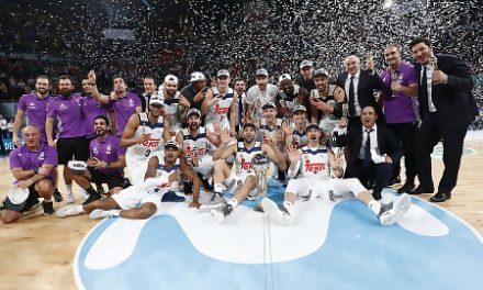 Felipe VI recibe el lunes al Real Madrid de baloncesto, vencedor de la Copa