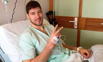 Slava Kravtsov, intervenido con éxito