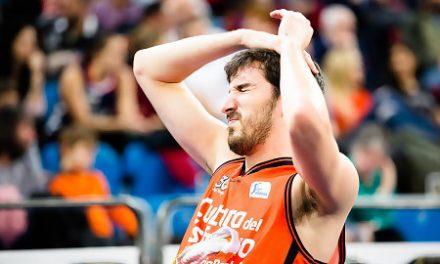 Vives se lesiona y Valencia Basket podría tener sólo un base ante el Khimki