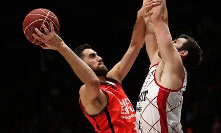 El Valencia Basket anota cien puntos por tercera vez en esta Liga Endesa