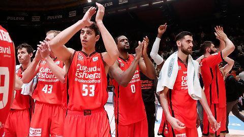 El ritmo del Valencia Basket desfonda al Montakit Fuenlabrada (101-86)