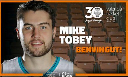 Valencia Basket ficha a Mike Tobey para lo que resta de temporada