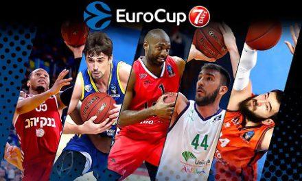 Bojan Dubljevic y Dejan Musli, en el primer quinteto de la EuroCup