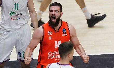 Dubljevic muta su estrella para dar la victoria a Valencia Basket (68-62)