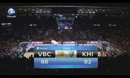 Resumen Partido 1 – 1/4 de final Eurocup VBC 88 – Khimki 82
