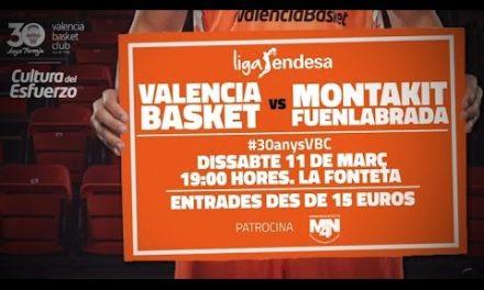 Promo Valencia Basket – Montakit Fuenlabrada J24 Liga Endesa