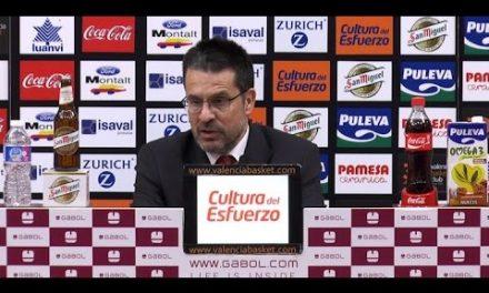 Pedro Martínez post J24 Liga Endesa vs Montakit Fuenlabrada