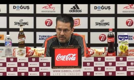 Pedro Martínez pre P1 Semifinal 7DAYS Eurocup vs Hapoel Jerusalem
