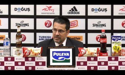 Pedro Martínez post P1 Semifinal 7DAYS Eurocup vs Hapoel Jerusalem