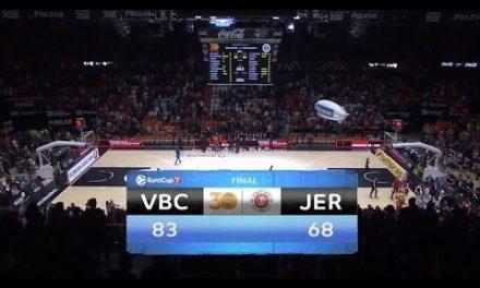 Resumen P1 Semifinal 7DAYS Eurocup: Valencia Basket – Hapoel Jerusalem