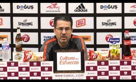 Pedro Martínez pre P3 Semis 7DAYS Eurocup vs Hapoel Jerusalem