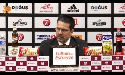Pedro Martínez post P3 Semis 7DAYS Eurocup vs Hapoel Jerusalem