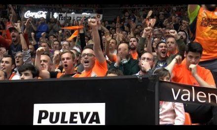 Gran ambiente con Puleva en P3 Semis 7DAYS Eurocup vs Hapoel