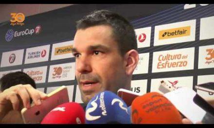 Rafa Martínez pre P1 Final 7DAYS Eurocup vs Unicaja