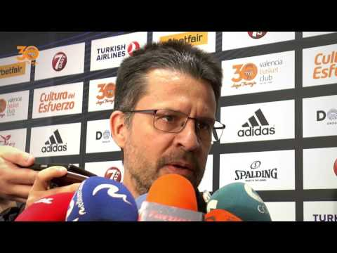 Pedro Martínez pre P1 Final 7DAYS Eurocup vs Unicaja