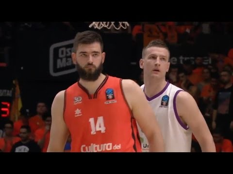 Bojan Dubljevic en P1 Final 7DAYS Eurocup vs Unicaja