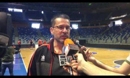 Pedro Martínez pre p2 Eurocup Finals viernes