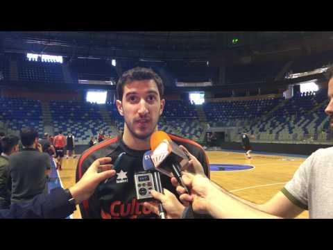 Guillem Vives pre p2 Eurocup Finals viernes
