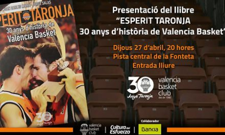 Valencia BC presenta el libro de su 30 aniversario el jueves 27 de abril