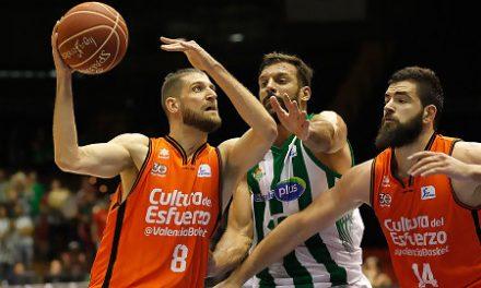 Valencia Basket hunde a Real Betis Energía Plus tras un trabajado triunfo