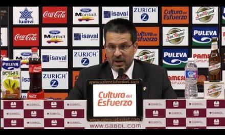 Pedro Martínez post J29 Liga Endesa vs FC Barcelona Lassa