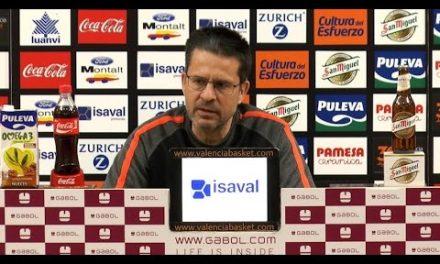Pedro Martínez pre J31 Liga Endesa vs Rio Natura Monbus Obradoiro