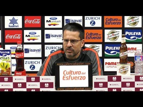 Pedro Martínez pre J28 Liga Endesa en ICL Manresa