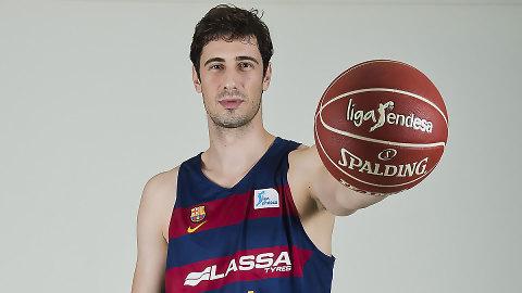 Ante Tomic, 2º máximo reboteador del Barça Lassa en Liga Endesa