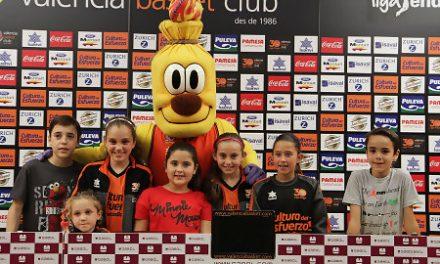 El 2º Campus del Esfuerzo de Valencia Basket y Bankia visita la Fonteta