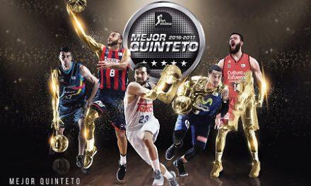 Mejor Quinteto de la Liga Endesa 2016-17