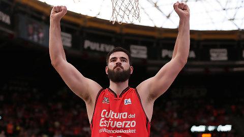 Bojan Dubljevic bate su tope en rebotes en la Liga Endesa