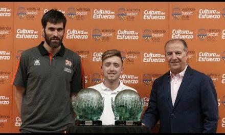 Fernando San Emeterio, ganador del Trofeo al Esfuerzo 2016-17