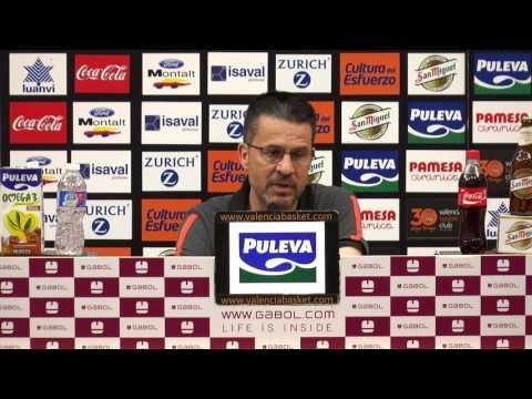 Pedro Martínez pre P2 Cuartos Playoff en FCB Lassa