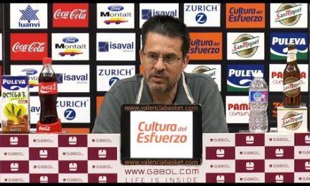 Pedro Martínez pre J32 Liga Endesa en Morabanc Andorra