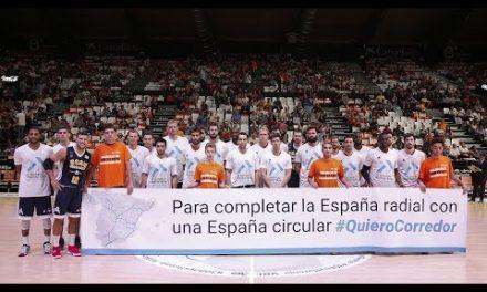 Corredor Mediterraneo en J34 Liga Endesa vs UCAM Murcia