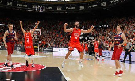 La escalera soñada del Valencia Basket