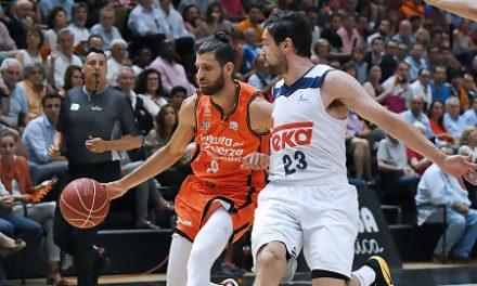 Primera eliminatoria entre Real Madrid y Valencia Basket sin 3-1