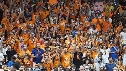 El Valencia Basket completa su escalera soñada