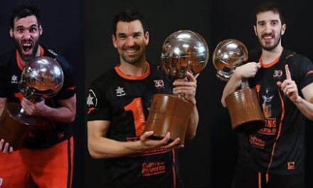 Valencia Basket amplía el contrato de Rafa Martínez, San Emeterio y Vives