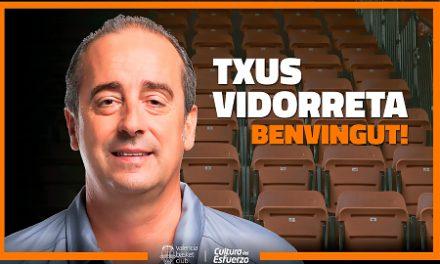 Txus Vidorreta, nuevo entrenador de Valencia Basket