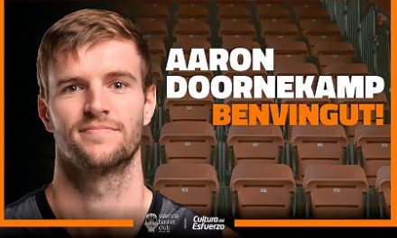 Aaron Doornekamp, al Valencia Basket de Vidorreta