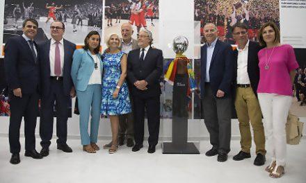 Inaugurada la exposición 'Valencia Basket, el éxito del Esfuerzo'