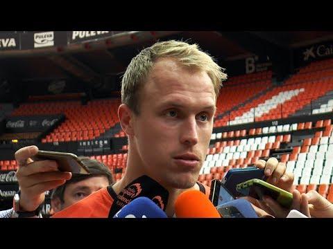 Luke Sikma pre P1 Final Playoff en Real Madrid