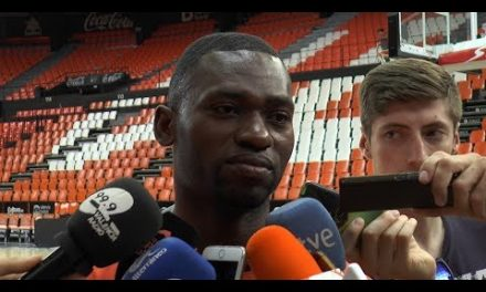 Romain Sato pre P1 Final Playoff en Real Madrid