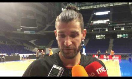 Antoine Diot pre P2 Final Liga Endesa