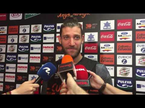 Antoine Diot pre P3 Final Liga Endesa