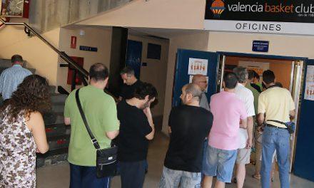 Oficinas y tienda de Valencia Basket inician el lunes el horario de verano