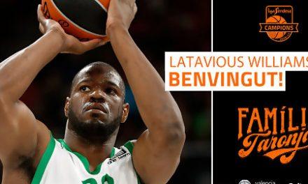 Valencia Basket alcanza un acuerdo con Latavious Williams
